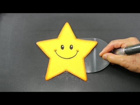 Kids PANCAKE Twinkle Twinkle Little Star Learn Coloring and Drawing for Children