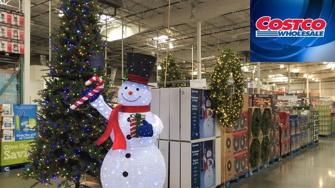Christmas Decorations Near Me.Costco Christmas Decorations Trees Gifts Toys Shop With Me Shopping Store Walk Through 4k