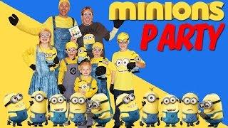 MINIONS PARTY!!