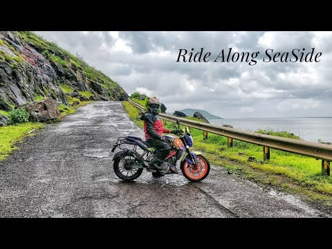 She Rides via Coastal Route || Mumbai-Alibaug-Dive Agar || Motovlog
