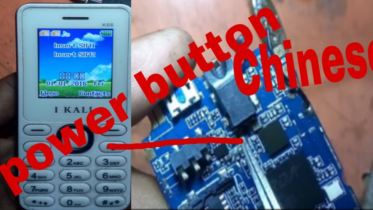 How to Fix Any China Keypad Mobile On/Off problem 100%Solution