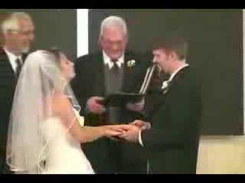 Lachanfall bei Hochzeit