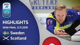 HIGHLIGHTS: Sweden v Scotland – semi-final – Le Gr...