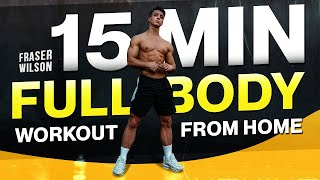 Download Mp3 15 Min Full Body Home Workout  No Equipment Bodyweight Workout!