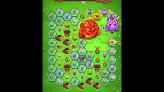 Blossom Blast Saga Level 74