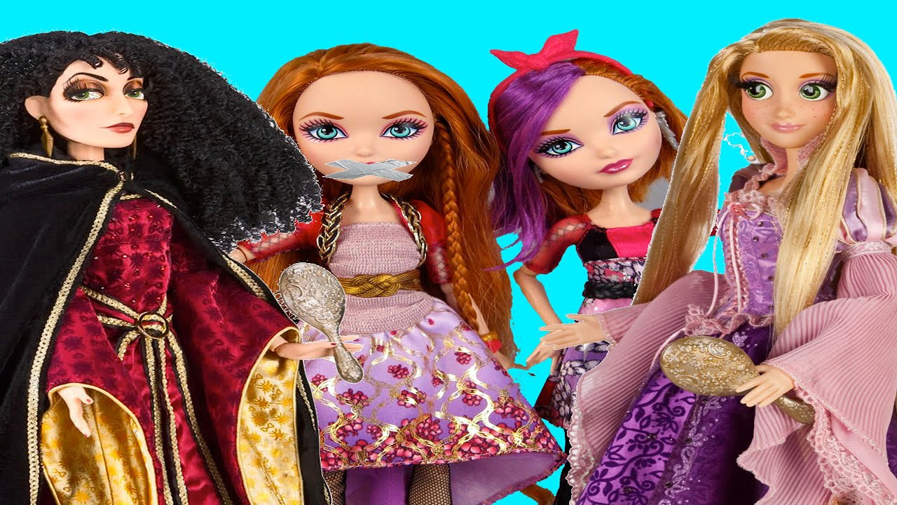 Uncategorized Pictures Of Rapunzel ever after high holly o hair kidnapped daughter of rapunzel stop motion youtube