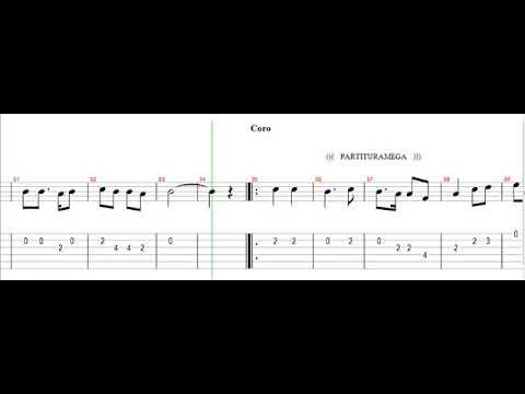 Nino Bravo Un Beso Y Una Flor Partitura Para Guitarra Youtube