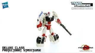 Video Review of the Transformers Combiner Wars: Deluxe Class Protectobot STREETWISE