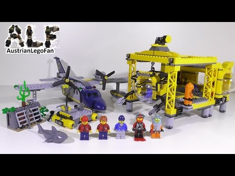 Lego City 60096 Deep Sea Operation Base / Tiefsee Station - Lego Speed Build Review