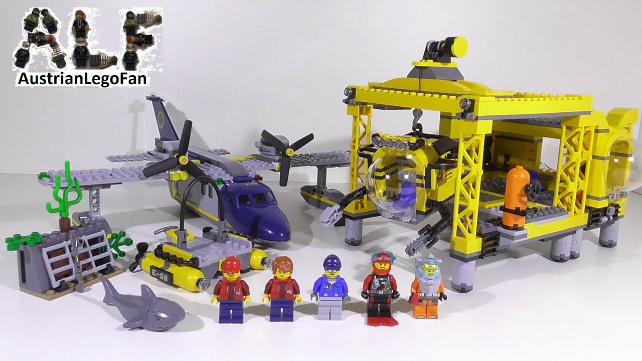 Lego City 60096 Deep Sea Operation Base Tiefsee Station