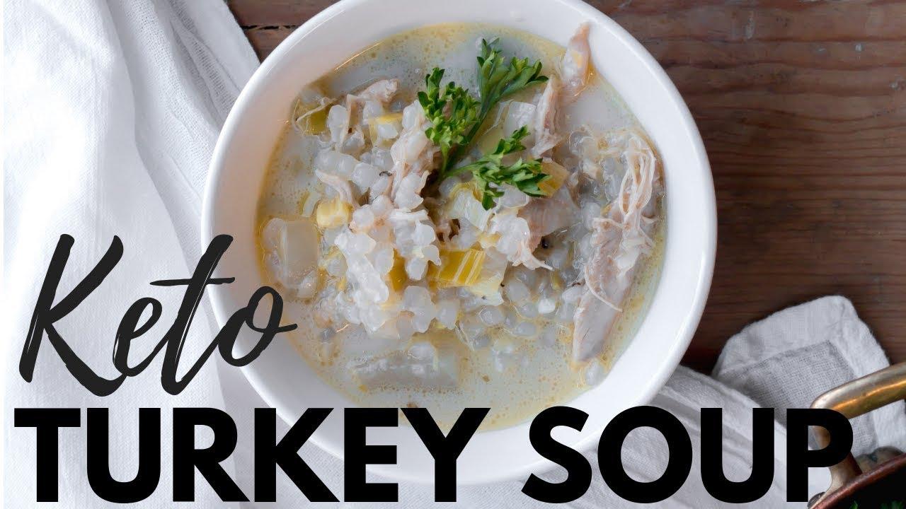 'Potpie' soup leverages leftover turkey, vegetables