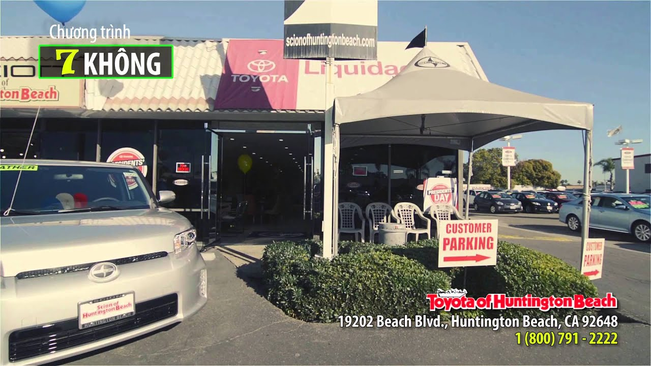 Commercial Ad Toyota Of Huntington Beach Ver 2 08 27 2017
