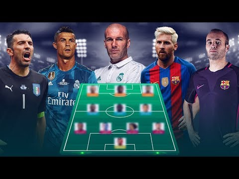FIFA Team of The Year [[ FIFPro World XI 2017 ]]