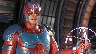 Injustice 2 - 7 Atom Intros
