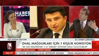 ELİF ŞENTÜRK İLE HABER MASASI AHMET ÇÖRTOĞLU 25 OCAK ÇARŞAMBA