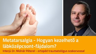 Lábközépcsont fájdalom kezelése lökéshullámmal