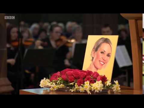 Dianne Oxberry, BBC1 North West Tonight, 28/02/19, memorial service report