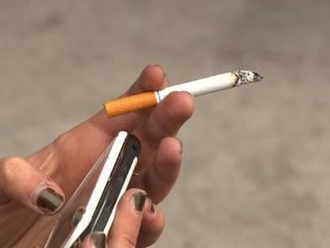 A cigarette a day keeps the