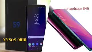 OPPO FIND X Vs Samsung galaxy S9.||must watch.flagship phones.