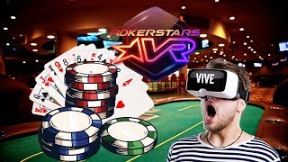 POKER IN VIRTUAL REALITY (FUNNY MOMENTS) [Pokerstars VR]