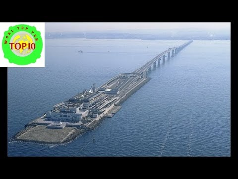 World Top 10 Longest Underwater Tunnels