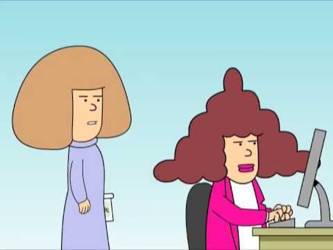 Dilbert:  Average Woman Video