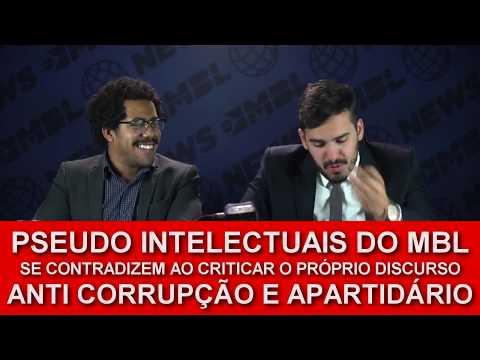 Pseudo Intelectuais do MBL se contradizem ao criticar o próprio discurso