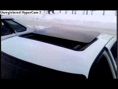 Электрический люк от Toyota Carina 2 на ВАЗ 2107 - YouTube
