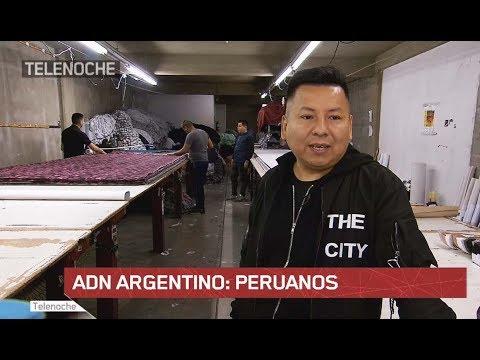 ADN argentino: PERUANOS