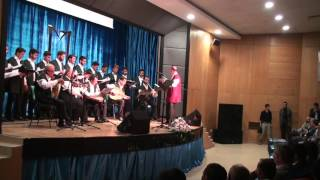 Muş Alparslan Üniversitesi 2016 Kutlu Doğum Haftası Tasavvuf Musikisi Konseri - Ey Allahım