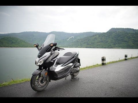 [Test Ride] Honda All New Forza 300 บิ๊กสกู๊ตเตอร์สุดหรู ขวัญใจมหาชน - วันที่ 21 Jun 2018