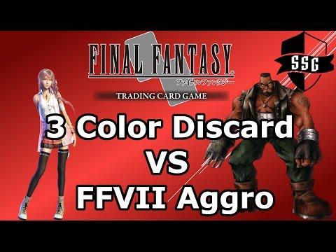 FFTCG Duel Series - 3 Color Discard VS FFVII Aggro