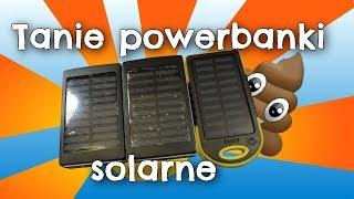 [Szambo technologiczne] Tanie powerbanki solarne