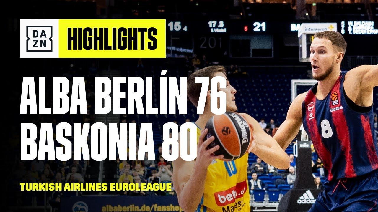 ALBA Berlin vs. Baskonia (76-80) | Highlights | Turkish Airlines EuroLeague