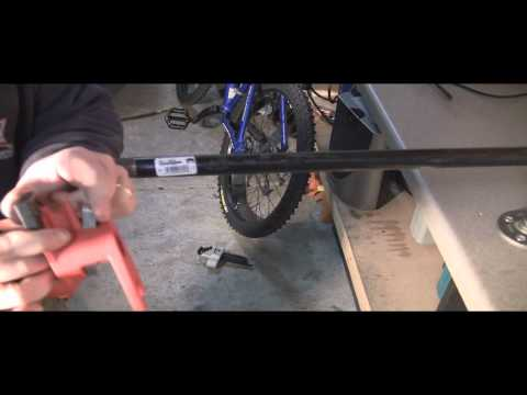 How to Build a Bicycle Repair Stand for $25 Dollars or Less!