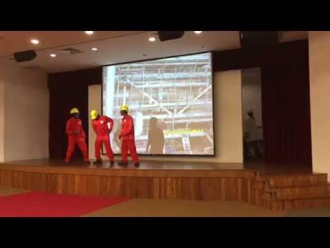 Hai Leck Engineering Pte Ltd,  Safety day 2015 Bukom in Singapore (One Team Goal Zero)