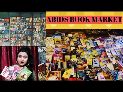 ABIDS BOOK MARKET HYDERABAD | HYDERABAD STREET SHOPPING | USED BOOKS MARKET IN HYDERRABAD