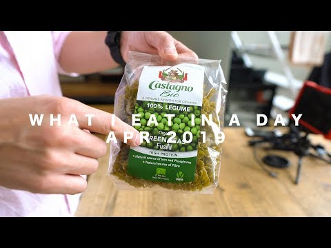 What I Eat In a Day // Apr 2019