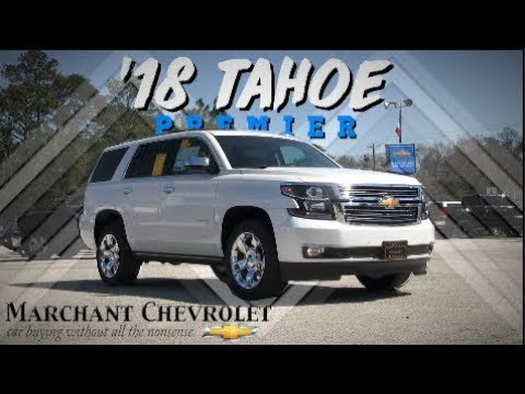 ⚪ 2018 Chevrolet Tahoe Premier - In Depth Review | Start Up at Marchant Chevy | Automotive Tour