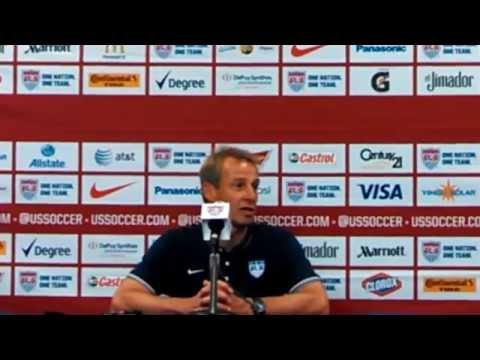 Jurgen Klinsmann post game part two