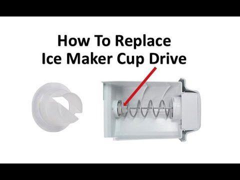 How to replace GE refrigerator ice maker part # WR30X28682 from YouTube · Duration:  2 minutes 54 seconds