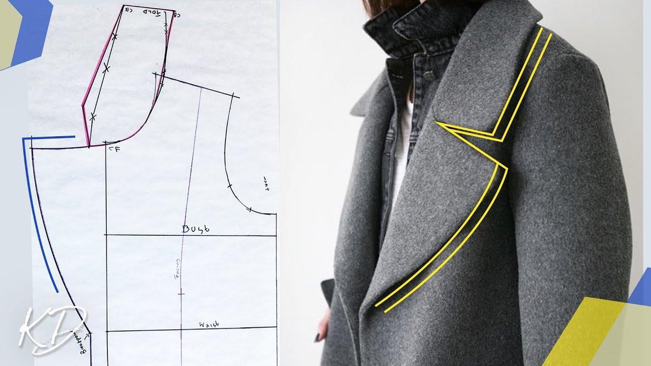 How to: make lapel & revere' collar patterns | teddy coat pt 1.