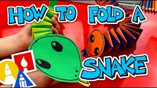How To Fold An Accordion Snake