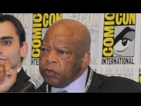 Rep. John Lewis' civil rights story comes to life in comics