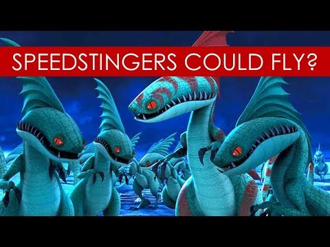 Download Youtube: Speedstingers could FLY? THEORY [How to Train Your Dragon l Race to the Edge]
