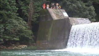 アクロバット飛び込み&高飛び込み  木戸ダム  SoarSlope24 thumbnail