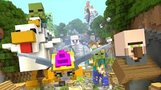 Minecraft - Can you beat my time? - Mobs - Glide Mini-game