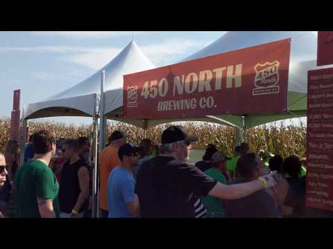 450 Tent at Corn Maze Beer Fest
