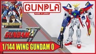 HARUMODELKIT: Wing Gundam Zero 1/144 NG - Unboxing y Reseña