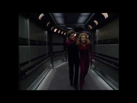 "Star Trek Voyager - Kes leaves Voyager ""The Gift"""